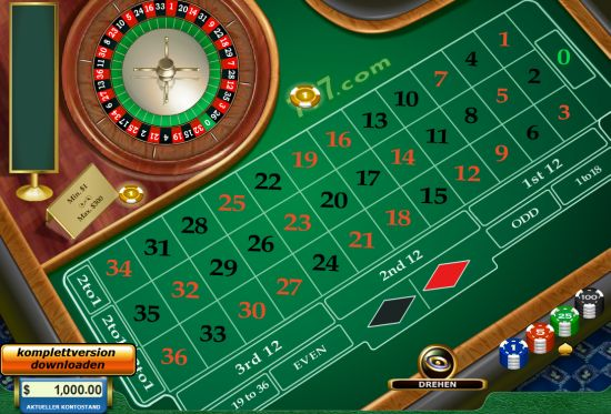 roulett spiel download